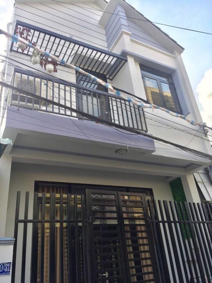Bán nhà mới xây 100%trục chính hẻm 80 đường Phạm Ngũ Lão
