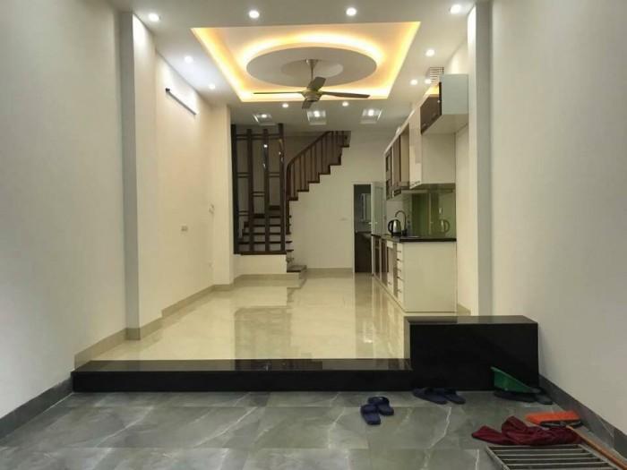 Bán nhà xây mới 5T gần KDT Văn quán-Ô tô đỗ cổng nhà.