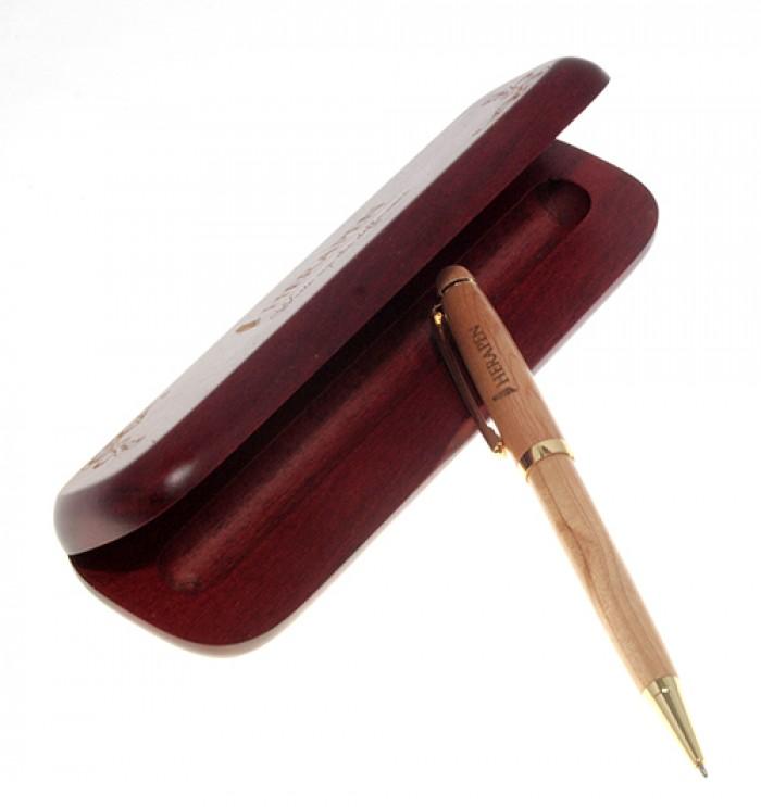 Hộp bút gỗ0