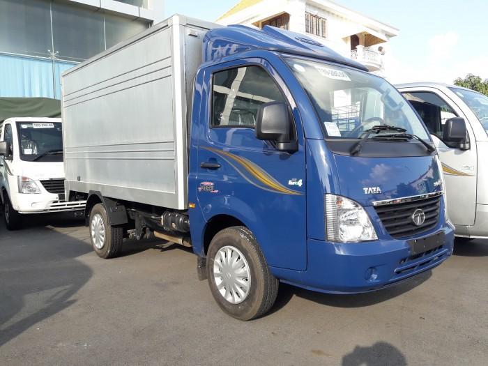 Xe tải TATA 1.2 tấn, vay 80%, tặng 100% trước bạ 3