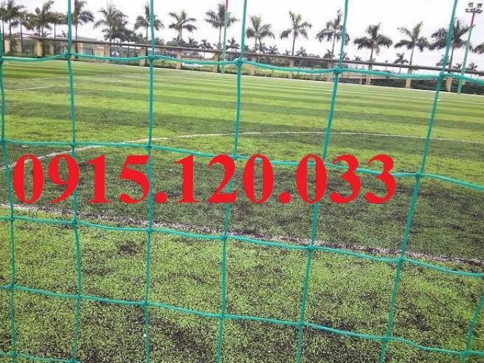 Lưới bóng đá xanh ngọc kích thước theo yêu cầu