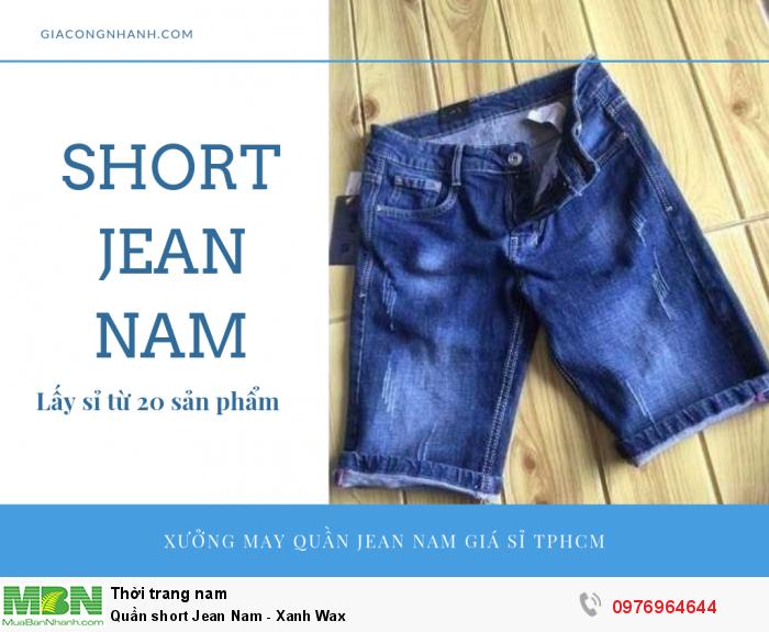 Bỏ sỉ short Jean nam từ xưởng sản xuất tại Đồng Nai