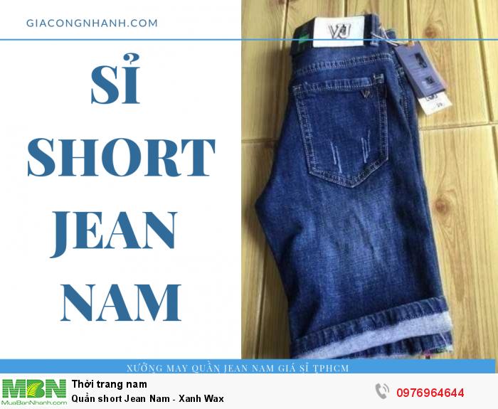 Sỉ short Jean nam từ 20 sản phẩm/mẫu