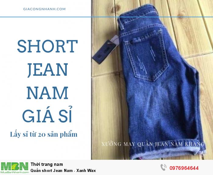 Short Jean nam giá sỉ - hàng từ xưởng sản xuất lớn tại Đồng Nai