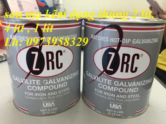 Sơn xịt mạ kẽm ZRC, zincosil, Zincguard, SM5002 - Mỹ , Ý, Úc, Hàn Quốc9