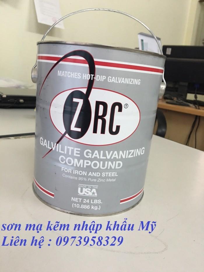 Sơn xịt mạ kẽm ZRC, zincosil, Zincguard, SM5002 - Mỹ , Ý, Úc, Hàn Quốc7