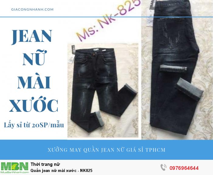 Xưởng chuyên sỉ quần Jean nữ mài xước - lấy sỉ từ 20 sản phẩm/mẫu2