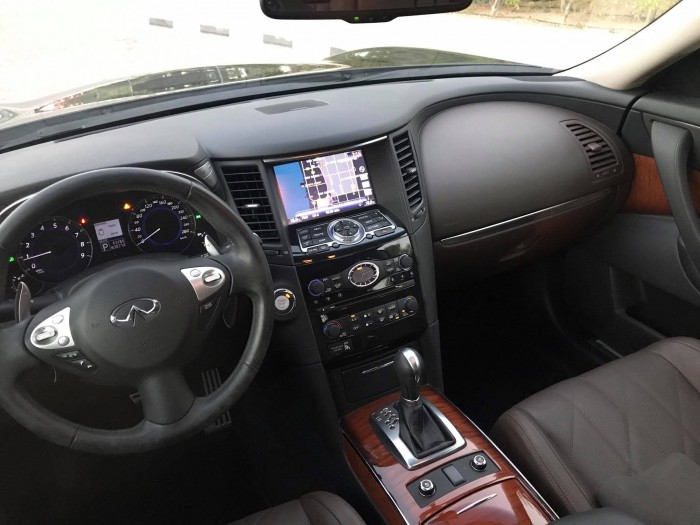 Infiniti QX sản xuất năm 2015 Số tự động Dầu diesel