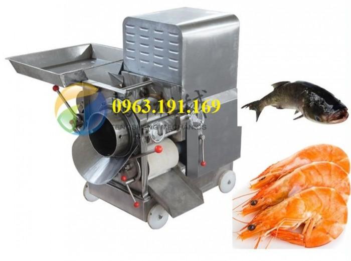 Máy tách xương cá, máy tách da, xương, thịt các loại cá công suất lớn3