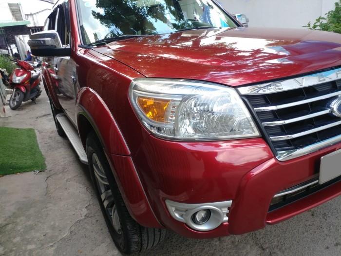 Gia đình cần bán Everest 2012, số tự động, máy dầu. màu đỏ, 5