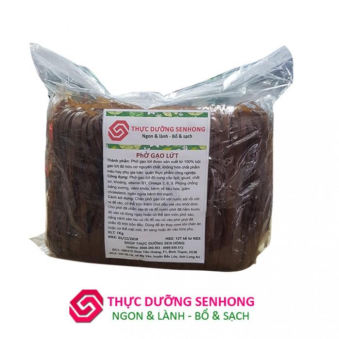 Phở Gạo lứt đỏ (1Kg) Thực dưỡng Sen Hồng