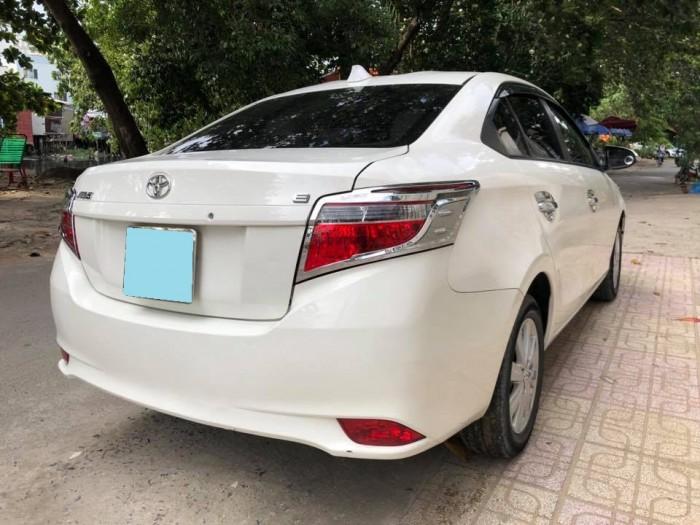 Cần tiền bán xe Vios 2017 đăng ký 2018, số tự động, màu trắng tinh ngọc trinh.
