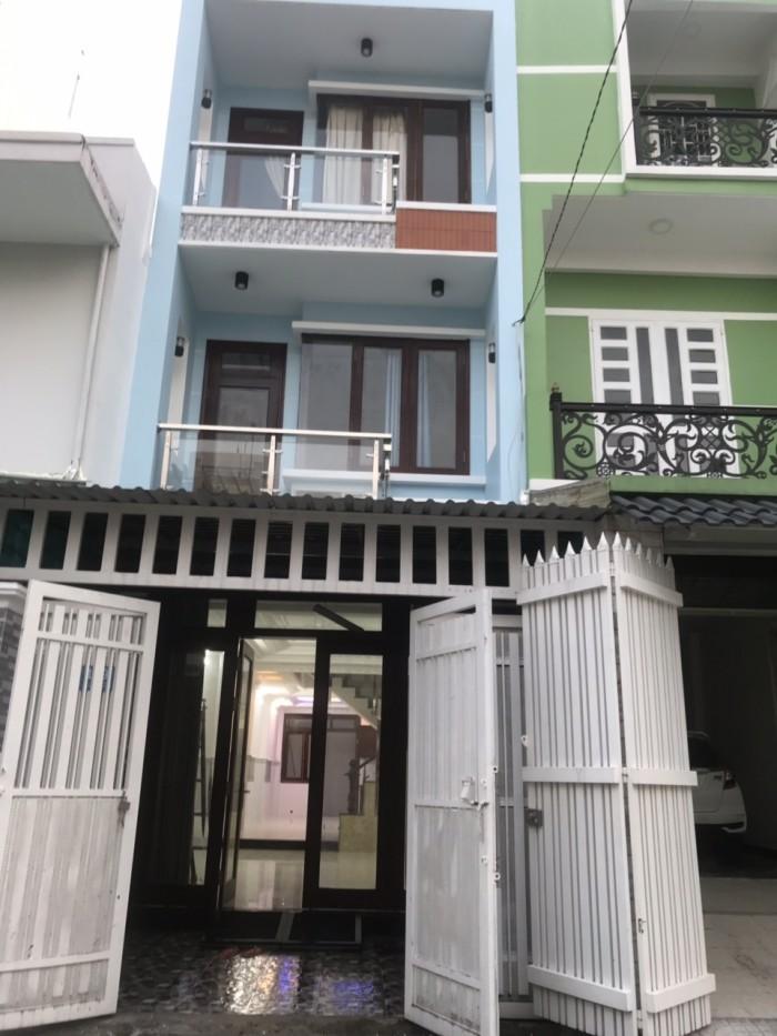 Cần bán nhanh nhà 2 lầu mặt tiền đường số 41, phường Tân Quy, quận 7.