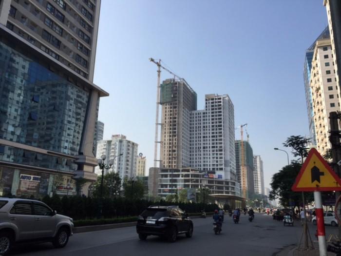 Bán nhà, bán đất MẶT PHỐ 2 mặt tiền 112m2 mặt tiền 13m Minh Khai, Hai Bà Trưng