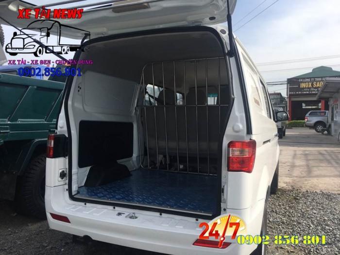Xe bán tải/ xe ban tai/ xe tai dongben/ xe tải vào thành phố 490kg. 5 chổ ngồi. 8