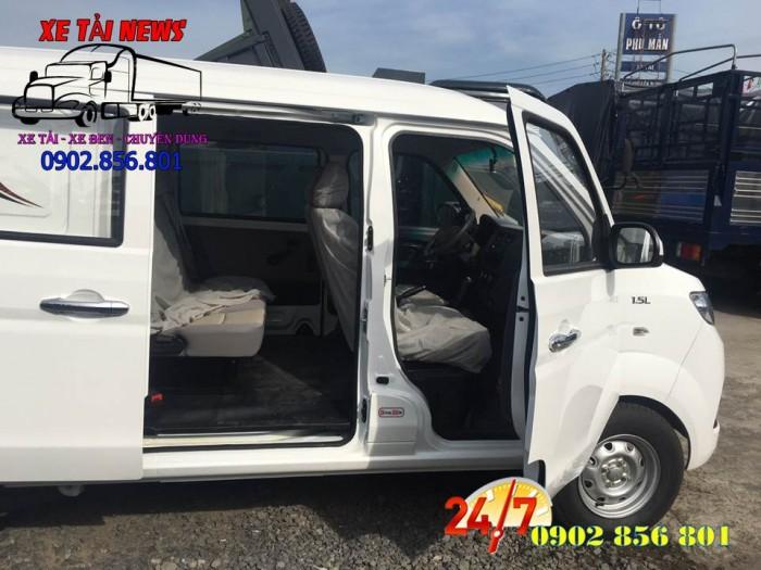Xe bán tải/ xe ban tai/ xe tai dongben/ xe tải vào thành phố 490kg. 5 chổ ngồi. 3