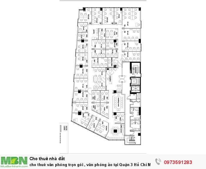 Cho thuê văn phòng trọn gói , văn phòng ảo tại Quận 3 Hồ Chí Minh
