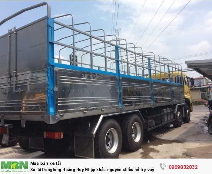 Xe tải Dongfeng Hoàng Huy Nhập khẩu nguyên chiếc hỗ trợ vay tới 85%