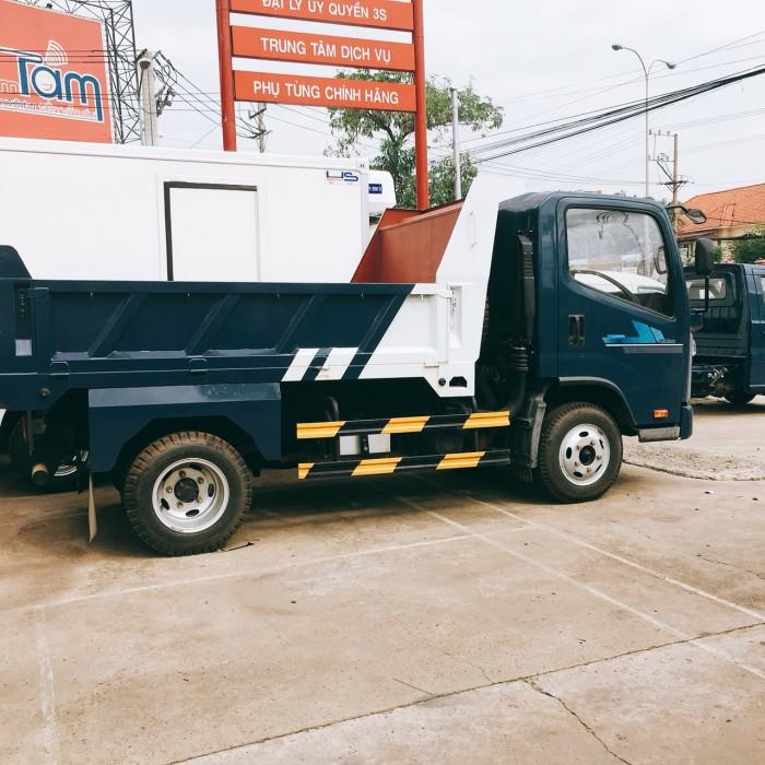 Bán xe tải nhẹ 2,5 tấn thùng ben động cơ isuzu ga cơ