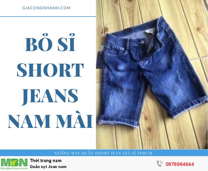 Chuyên sỉ Quần sọt Jean nam từ xưởng sản xuất - Xưởng may Nam Khang