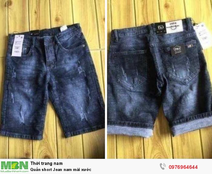 Xưởng chuyên sỉ quần short Jean ngắn dành cho nam