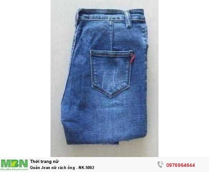 Bỏ sỉ quần Jean nữ rách ống số lượng từ 20 sản phẩm/mẫu1