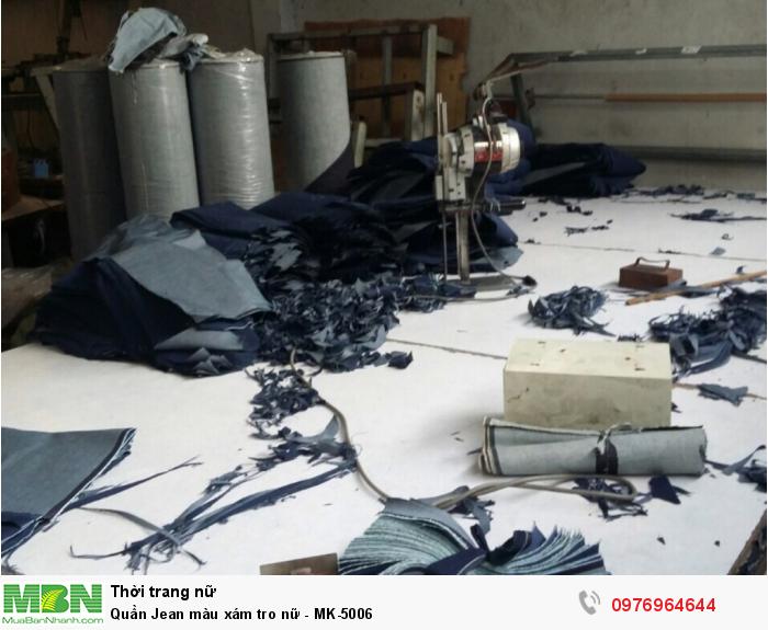 Phân xưởng cắt quần Jean tại xưởng may Nam Khang1