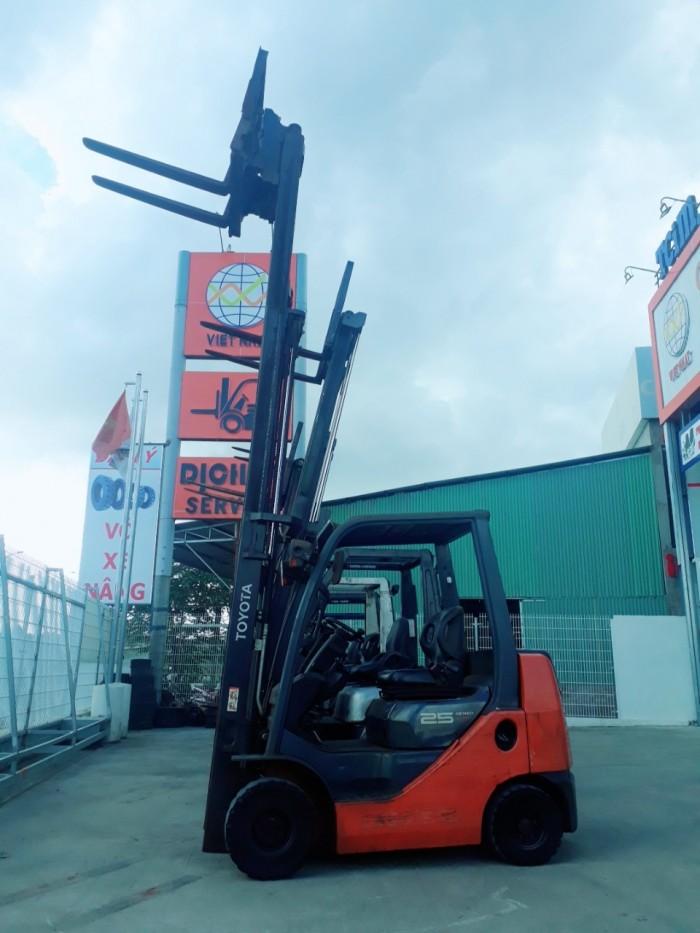 Xe nâng động cơ dầu JAC: 1 tấn ~ 3 tấn
