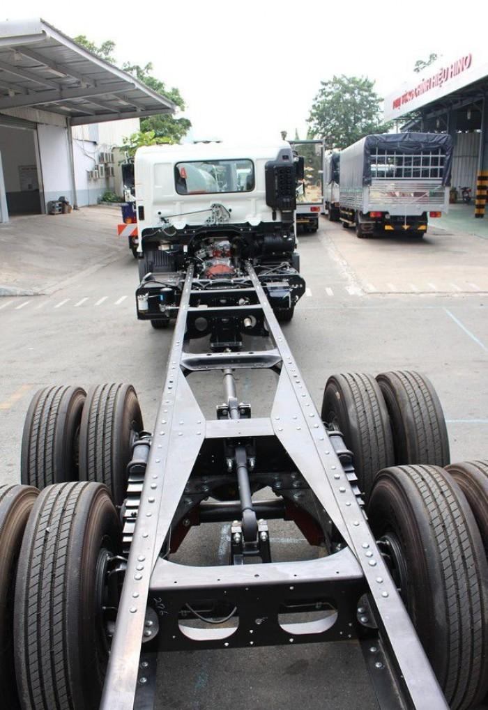 Xe tải Hino FL 15 tấn thùng bảo ôn, trả trước 100 triệu có xe giao ngay