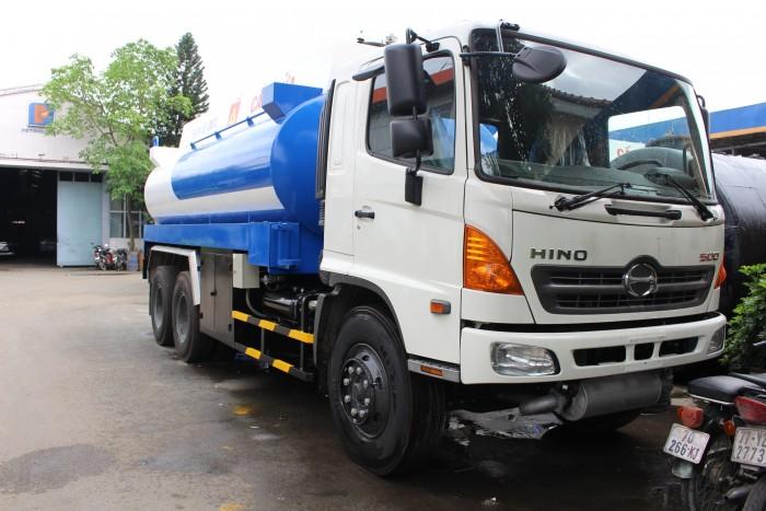 Xe bồn chở xăng dầu Hino FL 19 khối