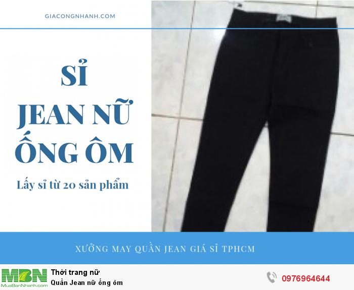 Đặt may quần Jean nữ ống ôm theo mẫu yêu cầu - Xưởng may Nam Khang1