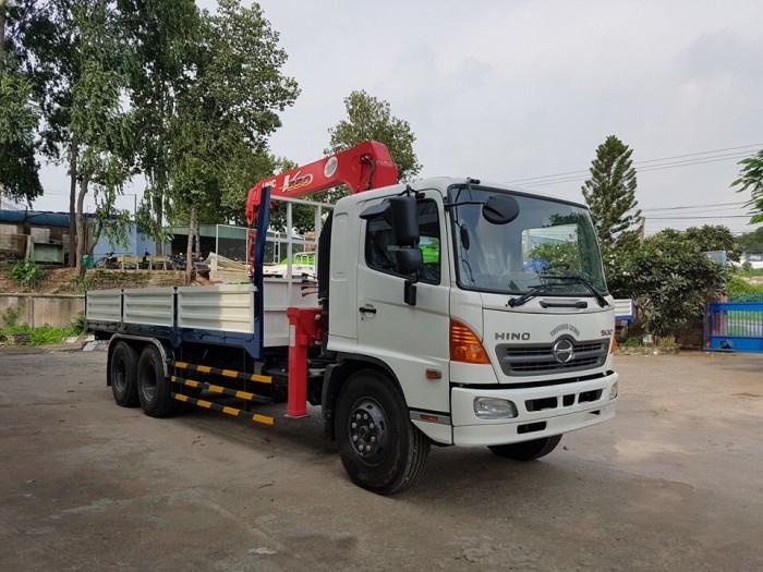 Xe tải Hino FL 15 tấn gắn cẩu Unic 3 tấn 3