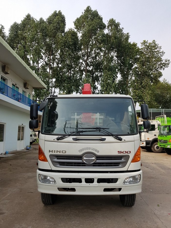 Xe tải Hino FL 15 tấn gắn cẩu Unic 3 tấn 0