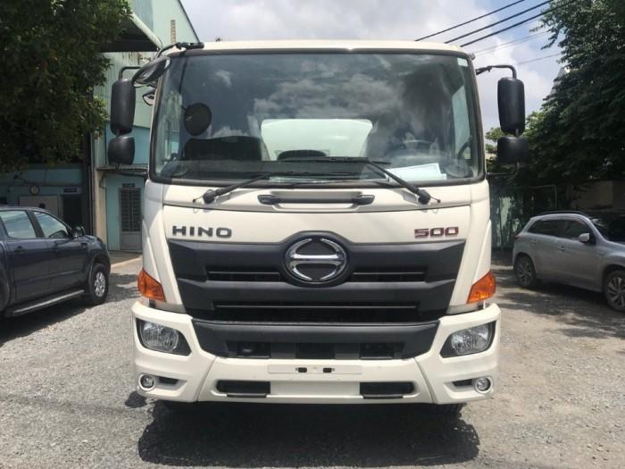 Xe tải Hino 16 tấn thùng mui bạt, trả trước 150 triệu giao xe ngay