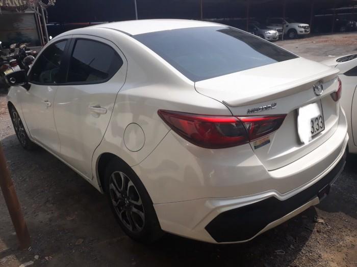 Bán Mazda 2 2016, màu trắng, biển TP, giá TL, hổ trợ góp