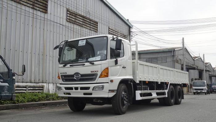 Xe tải Hino 16 tấn thùng lửng 7m6, trả trước 150 triệu có xe giao ngay 7