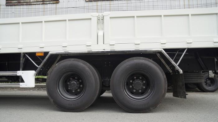 Xe tải Hino 16 tấn thùng lửng 7m6, trả trước 150 triệu có xe giao ngay 5