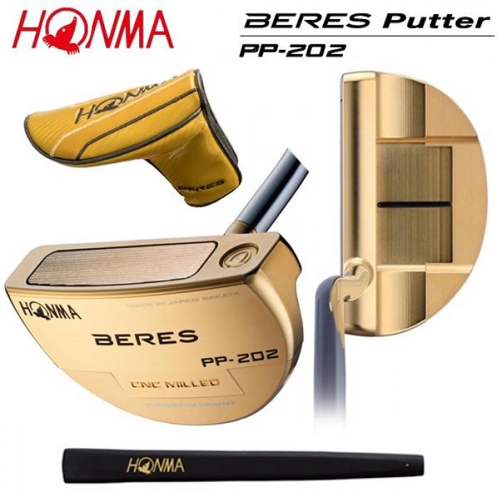Gậy Golf Putter Honma PP-202 Gold Steel Chính hãng2