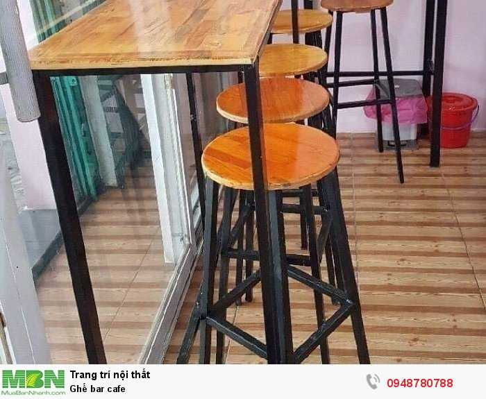 Ghế bar cafe1