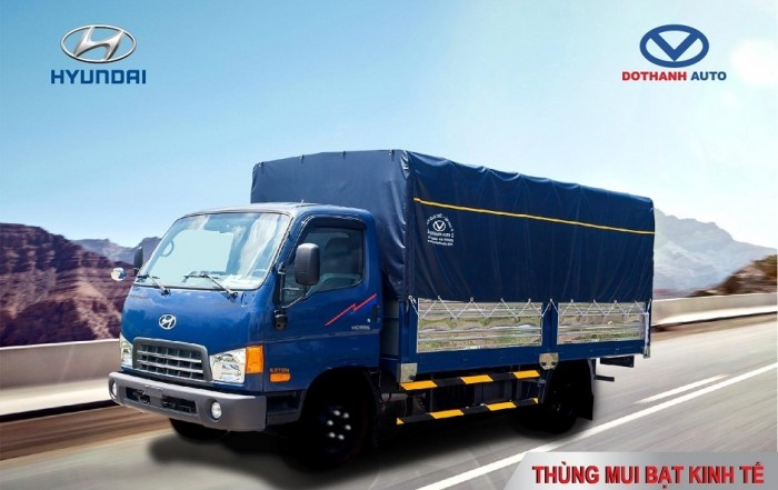 HD99-tải trọng 6,5 tấn, sẵn xe giao ngay