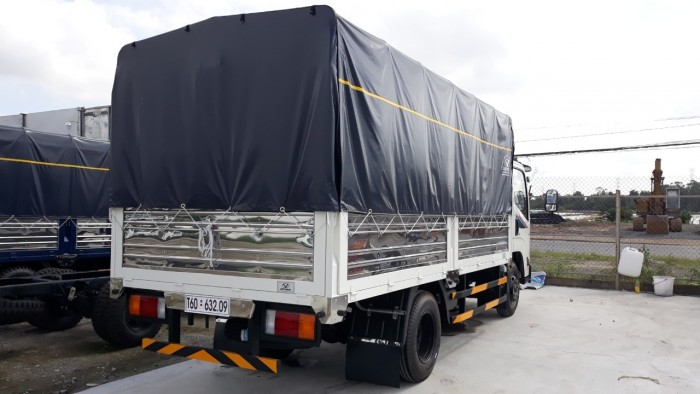 Xe tải Đô Thành IZ65 tải trọng 3.490 kg thùng mui bạt dài 4.3 m đời 2018, euro4 tại Kiên Giang
