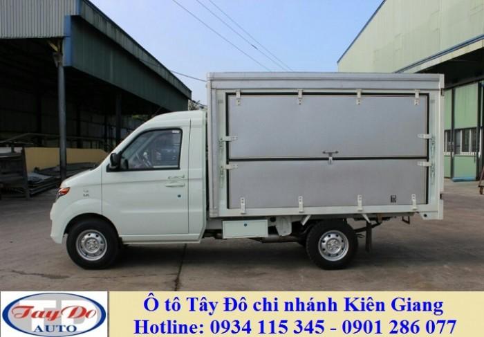 Bán xe tải Kenbo chiến thắng+ thùng kín cánh dơi+ giá cạnh tranh+ ô tô Tây Đô Kiên Giang