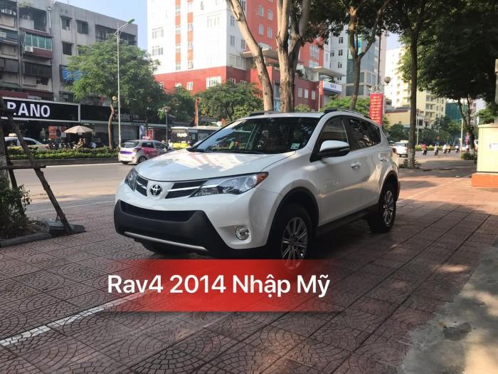 Toyota RAV4 sản xuất năm 2014 Số tự động Động cơ Xăng