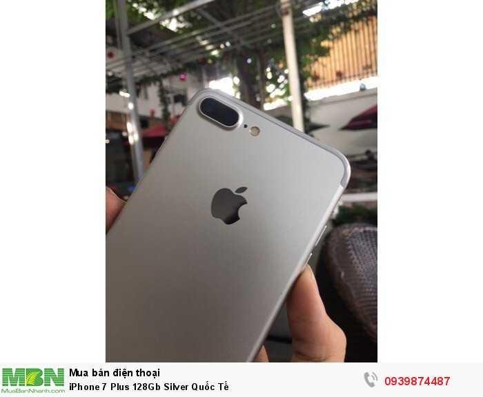 iPhone 7 Plus 128Gb Silver Quốc Tế1