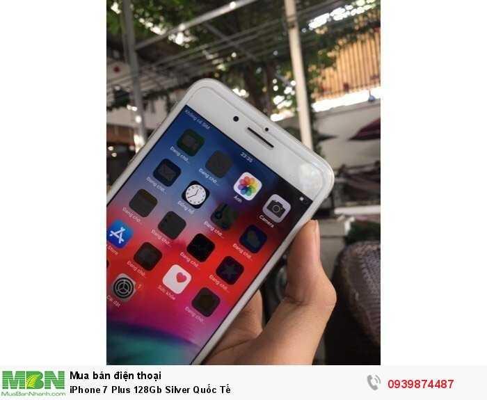 iPhone 7 Plus 128Gb Silver Quốc Tế4