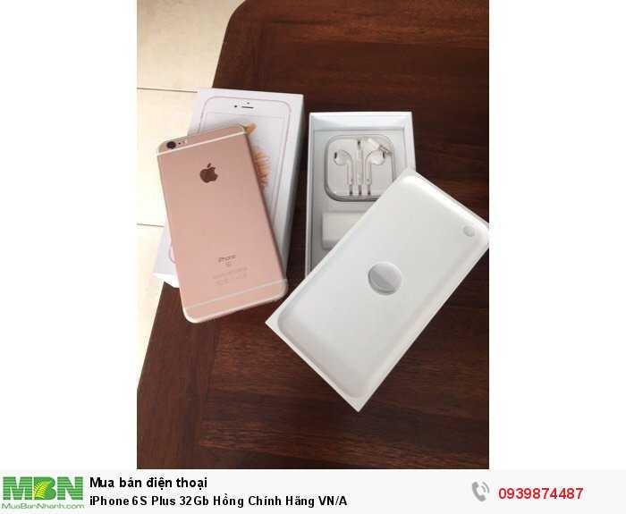 iPhone 6S Plus 32Gb Hồng Chính Hãng VN/A0