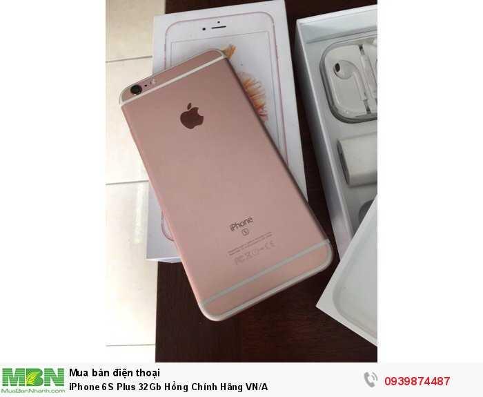 iPhone 6S Plus 32Gb Hồng Chính Hãng VN/A1