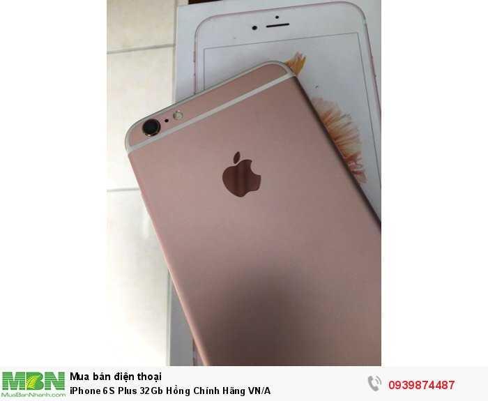iPhone 6S Plus 32Gb Hồng Chính Hãng VN/A2
