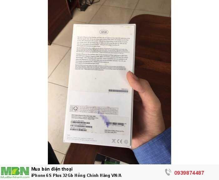 iPhone 6S Plus 32Gb Hồng Chính Hãng VN/A3
