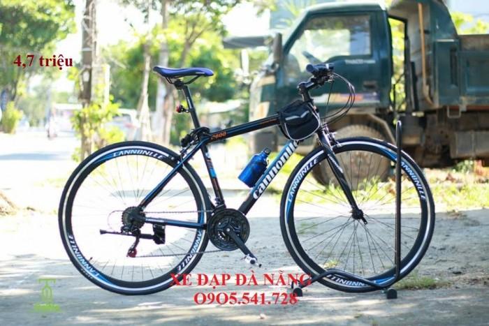 Xe đạp đường trường Cannonlle khung nhôm siêu nhẹ